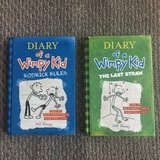 2 Diary of a Wimpy Kid Books - Hardcovers! in Westmont, Illinois