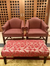 Durable Tufted Accent Arm Chairs in Okinawa, Japan