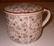 Porcelain Tea / Coffee Cup with Lid in Grafenwoehr, GE