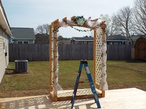 Wedding Arbor arched pergola for Rent or sale in Camp Lejeune, North Carolina