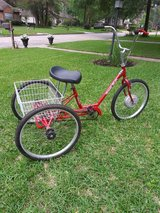 Miami Sun Leader 3 wheel trike with canopy in Kingwood, Texas