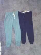 Green and black joggers in Westmont, Illinois