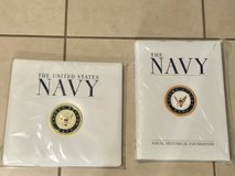 "US Navy Hardcover Collector's Book and 12""x12"" Scrapbook Brand New in Fairfield, California"