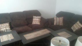 Best offer Living room set for sale. Relocating in 2 weeks and i cant bring it with me. in Fort Leonard Wood, Missouri
