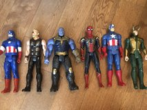 "Marvel Avengers 12"" Action Figures in The Woodlands, Texas"