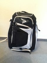 A Eston white and black baseball bag in Ramstein, Germany