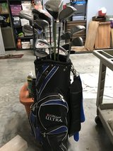 Golf clubs and bag in Kingwood, Texas