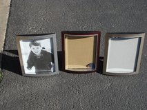 "THREE 8 X 10 "" PICTURE FRAMES in Plainfield, Illinois"
