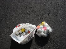BAG OF 82 NEW AND USED GOLF BALLS in Plainfield, Illinois