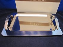 RALPH LAUREN Equestrian Braid Bar Tray Stainless Steel NEW in BOX in Bolingbrook, Illinois