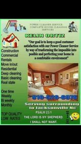 Move out cleaning services/deep cleaning/basic cleaning!!! in Camp Lejeune, North Carolina