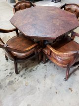 Game table with 4 chairs in Westmont, Illinois