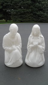 Blow Molds  ( Mary & Joseph ) in Naperville, Illinois