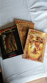 3 BOOKS! INDIANA JONES! in Camp Pendleton, California