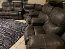 3 piece sectional couch set in Bellaire, Texas