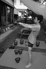 Kettlebell training. Basics and more in Okinawa, Japan