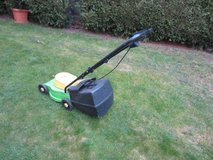 compact electric mower with catch bag in Ramstein, Germany