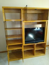 Entertainment Center - Solid Oak in Naperville, Illinois