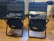Harley-Davidson fold up chairs in Plainfield, Illinois