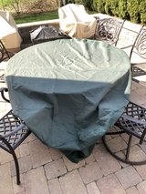 78 inch round patio table cover in Naperville, Illinois