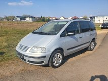 VW Scharan 2.0 AUTOMATIC NEW INSPECTION 7 sids 2002 in Ramstein, Germany