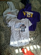 Sweatshirts and tees for masks or just to have -ladies medium in Plainfield, Illinois