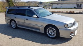 *Hidden GT-R* Nissan Stagea 260 RS Autech-Version *R33 Skyline GT-R Wagon* in Ramstein, Germany