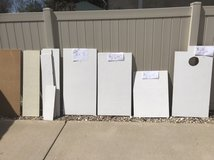 Fiberboard ceiling tile, used by clean and painted in Plainfield, Illinois