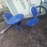 Decorative Wicker Table and chairs in Naperville, Illinois