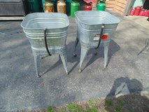 WASH TUBS AND STANDS in Naperville, Illinois