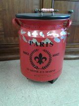 French Milk Can Storage Table #1685-3715 in Camp Lejeune, North Carolina