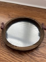 Wood & Metal Tray - New in Naperville, Illinois