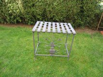 vintage metal table / plant stand in Ramstein, Germany