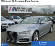 Audi A6 U.S Spec (Video/Phone Appointments available) in Ramstein, Germany