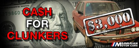 CASH FOR CLUNKERS (Trade in your old Junker) in Ramstein, Germany