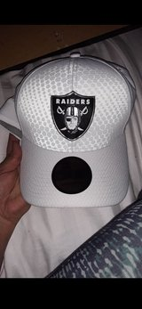 NFL raiders hat in Nellis AFB, Nevada