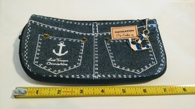 Nautical Navy Anchor Jeans Coin Purse in 29 Palms, California