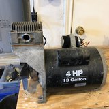 4 HP OIL FREE COMPRESSOR HEAD NEEDS TANK AND COUPLINGS WORKS GREAT in Alamogordo, New Mexico