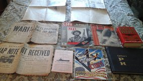 Military History  Collector  World War II  Newspaper Dec, 8 1941/Newspapers/ Books/Historical In... in Naperville, Illinois