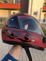 Small motorcycle or scooter helmet in Kansas City, Missouri