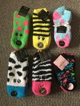 NEW, Adorable 2-pack Fuzzy Socks (6 available) in Naperville, Illinois