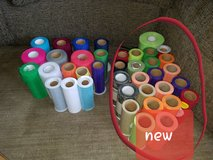 Mixed lot of craft tulle some new some used in Oswego, Illinois
