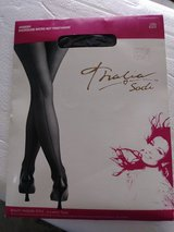 Backseam micro net pantyhose in Aurora, Illinois
