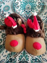 Reindeer slippers new med in St. Charles, Illinois