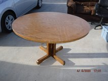 """48"""" Wood Round table in 29 Palms, California"""