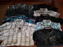 Boys 10/12 button up shirts in Oswego, Illinois
