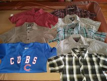 Boys button up shirts size 8 in Oswego, Illinois