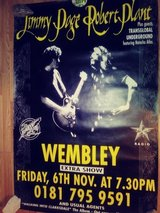 Jimmy Page & Robert Plant (Wembley) Large Promotion Poster in Alamogordo, New Mexico