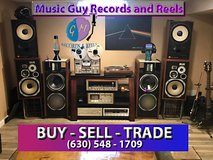 Vintage Audio Home Stereo equipment and speakers wanted in Batavia, Illinois