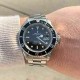 Vintage Rolex 16800 1985 Submariner Date Black Dial 93150 593 J1 in Tunbridge Wells, UK